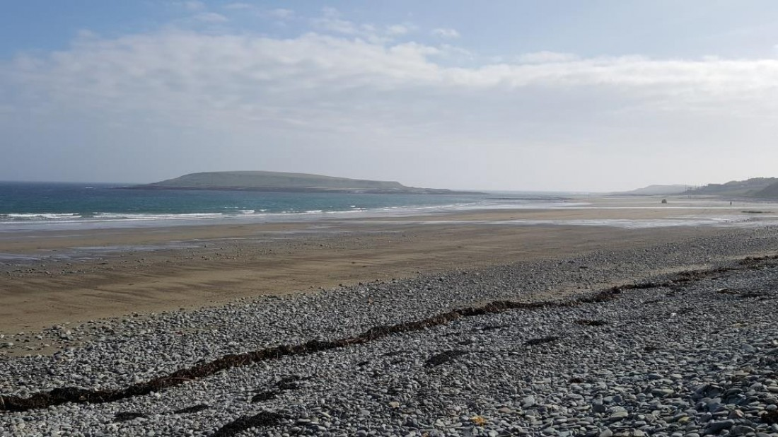 Ballyhornan Beach Litter Clean-up August 25th 2018