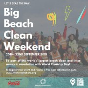 The Big Beach Clean 2019 20th - 22nd September