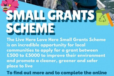 Live Here Love Here Small Grant Scheme Now Live!