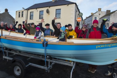 Portaferry St Ayles Skiff Launch