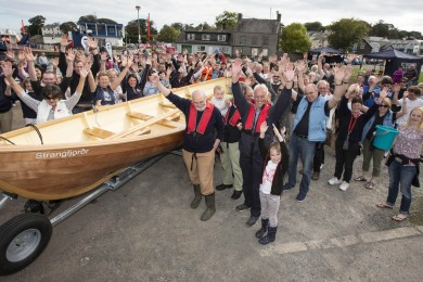 Strangford St Ayles Skiff Launch