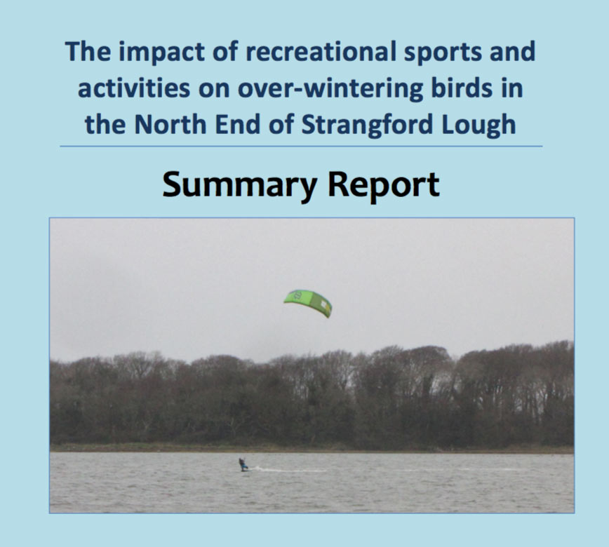 The impact of recreational sports and activities on over - wintering birds in the North End of Strangford Lough