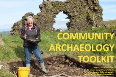 "Queen's and Lough Neagh Landscape Partnership launch ""Community Archaeology Toolkit"" online resource"