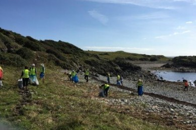 Killough Coastal Path Shore Clean