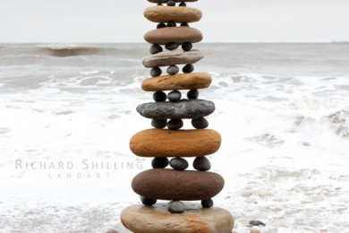 Stone Stacking At Ballyhornan Beach