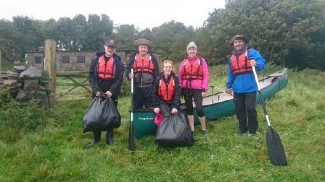 Loch Cuain Canoe Club Carry Out Clean-ups With a Difference!