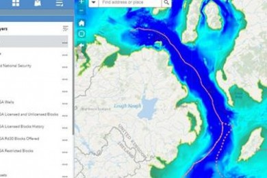 Northern Ireland Marine Mapviewer