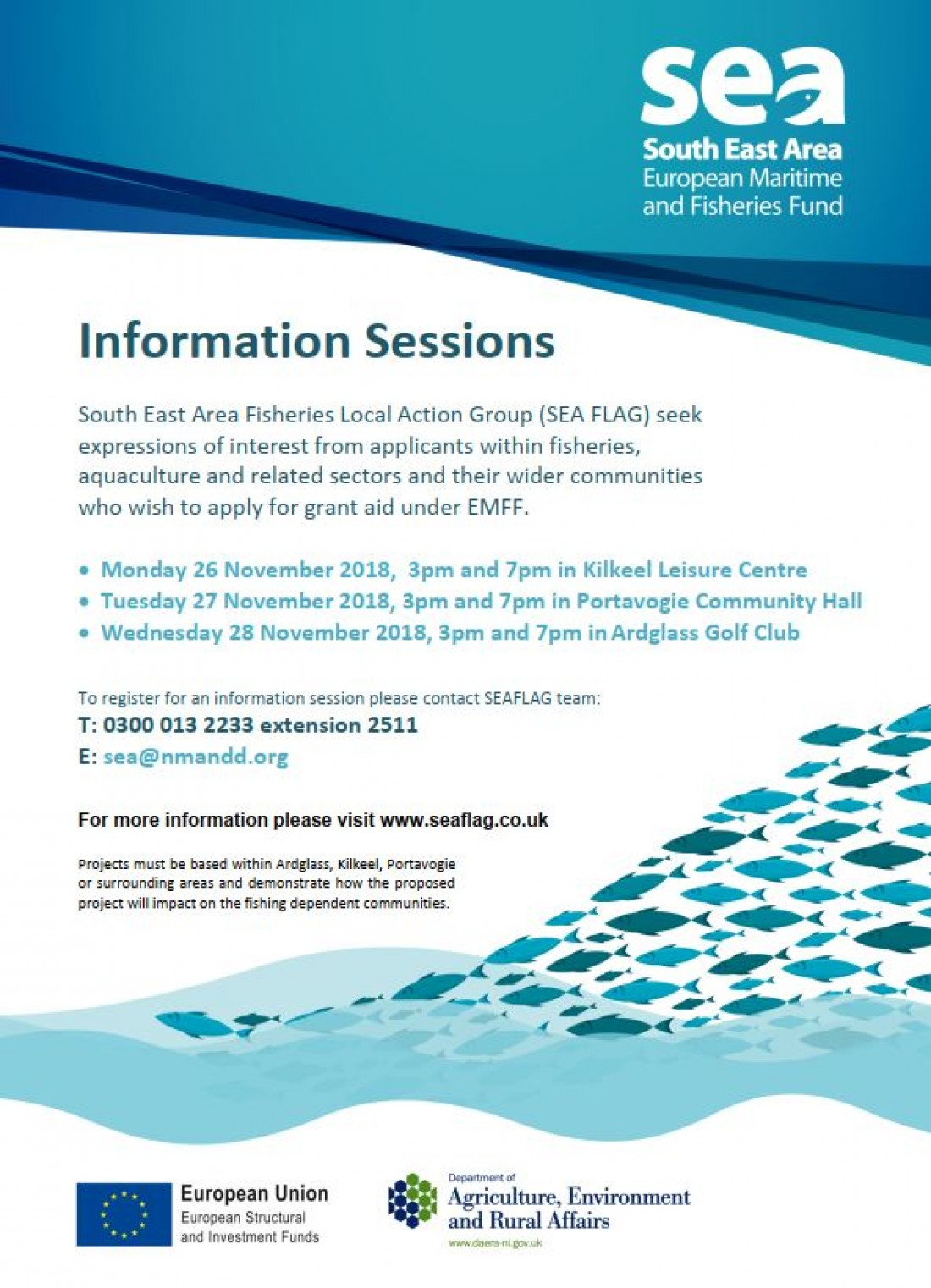 South East Area Fisheries Local Action Group Information Session